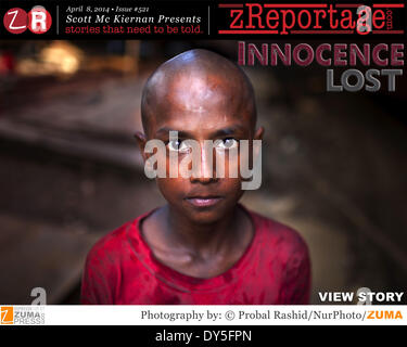 zReportage.com Story of the Week # 521 - Innocence Lost - Launched April 8, 2014 - Full multimedia experience: audio, - Stock Photo