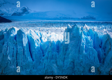 The Perito Moreno Glacier is a glacier located in the Los Glaciares National Park in southwest Santa Cruz province, - Stock Photo