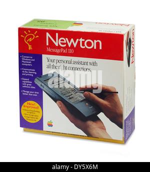 Apple Newton box - Stock Photo
