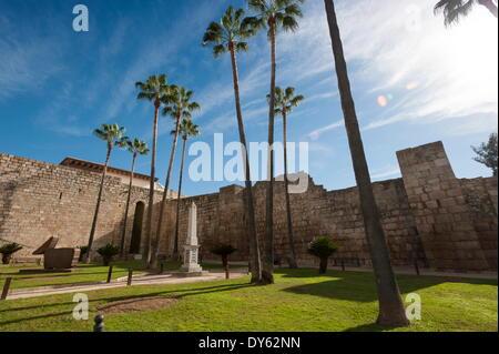 Al Cazaba, Merida, Badajoz, Extremadura, Spain, Europe - Stock Photo