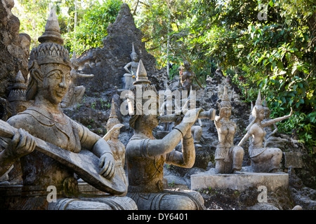 Secret Buddha Garden, Koh Samui Island, Surat Thani Province, Thailand, Southeast Asia - Stock Photo