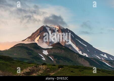 Vilyuchinsk volcano, Kamchatka, Russia, Eurasia - Stock Photo