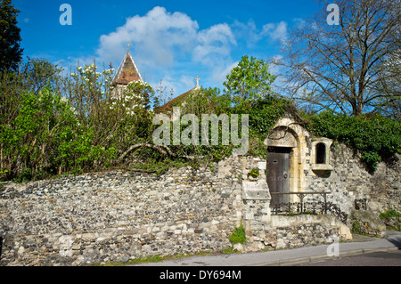 Davington Church at Faversham, Kent - Stock Photo