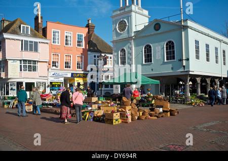 Faversham Market - Stock Photo