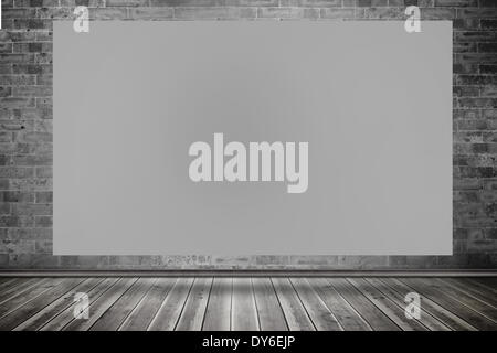 Composite image of grey card - Stock Photo