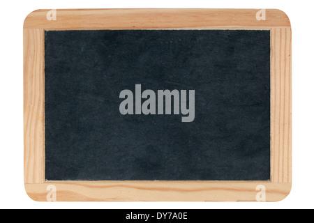 Empty blank blackboard isolated on white background - Stock Photo