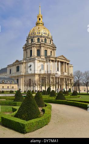 L'Hôtel national des Invalides,7th Arrondissement, Paris, France - Stock Photo