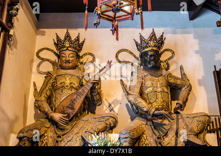 Jade Buddha Temple, Shanghai, China - Stock Photo