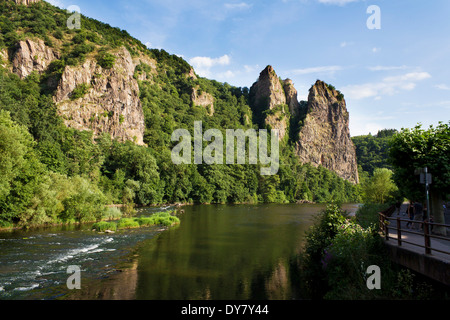 Germany, Rhineland-Palatinate, Bad Munster Am Stein-Ebernburg
