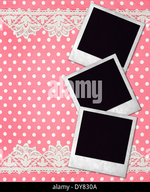 Old Photo Frame Dot Pattern Icon Picture Placeholder Dotted Icon