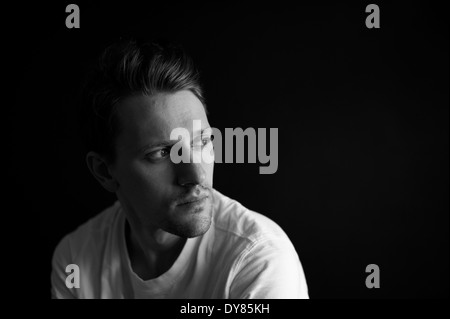 Young man, portrait - Stock Photo