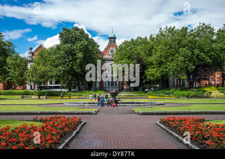 Ireland, Dublin, the St Patrik's gardens - Stock Photo