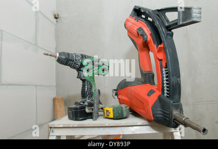 Tools are prepared to work - Stock Photo