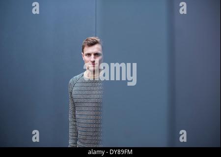 Young man, portrait - Stock Photo