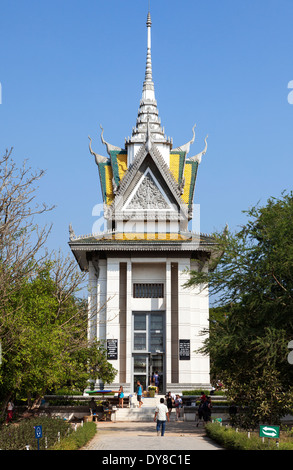 The Killing Fields ( Choeung Ek ) Memorial Site in Phnom Penh, Cambodia - Stock Photo