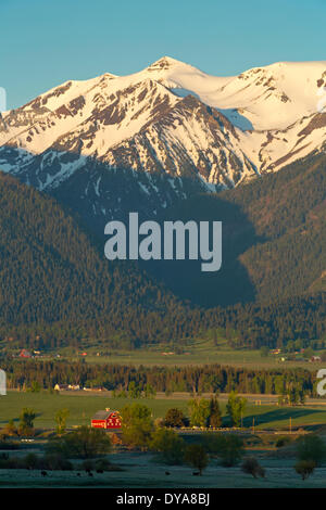 Joseph Oregon OR USA America United States Mountain Range - United states mountains