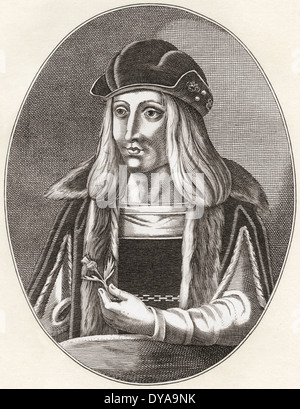 James IV, King of Scots, 1473 – 1513. - Stock Photo
