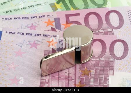 Bribery Of Referees - Stock Photo
