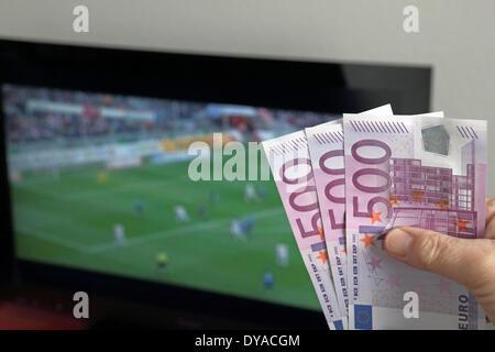 Football Bets - Stock Photo