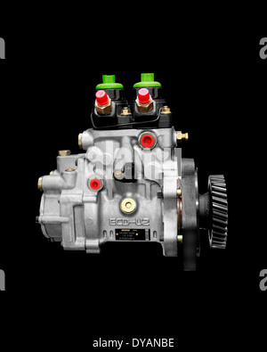 Diesel Fuel Injection Pump - Stock Photo