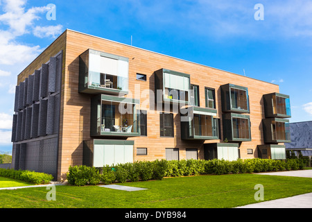 Modern residential architecture. - Stock Photo