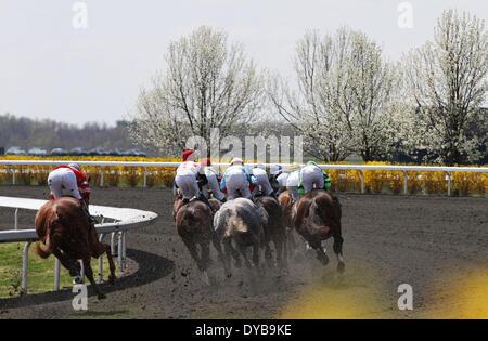 Lexington, KY, USA. 12th Apr, 2014. April 12, 2014: Bluegrass Day Scenic. Candice Chavez/ESW/CSM/Alamy Live News - Stock Photo
