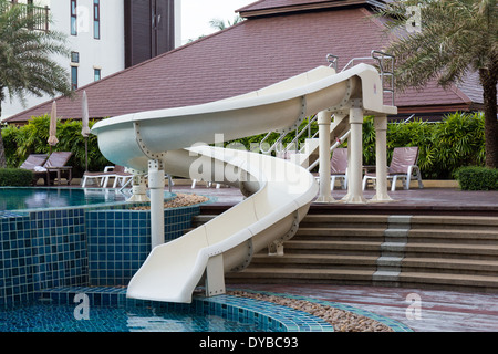 Kids Water Park With Water Slides In Dominican Republic Punta Cana Stock Photo Royalty Free