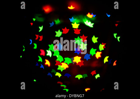 Abstract colorful background for the Jewish holidays shot closeup - Stock Photo