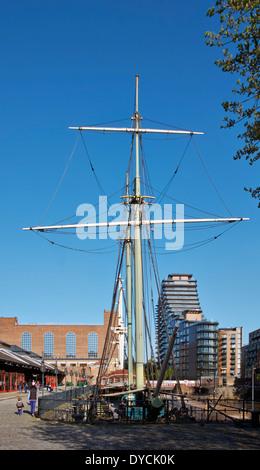 Tobacco Dock, Wapping, London, UK. - Stock Photo