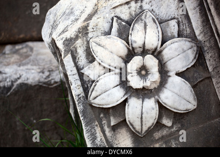 Details in the Roman Forum, Rome, Italy - Stock Photo