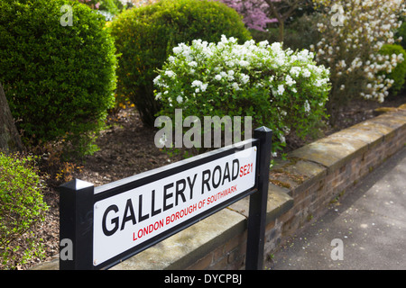 Gallery Road, Dulwich, London, SE21 - Stock Photo
