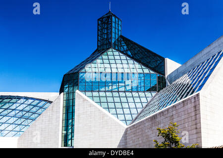 The MUDAM Museum of Modern Art in the Kirchberg district of Luxembourg City. - Stock Photo