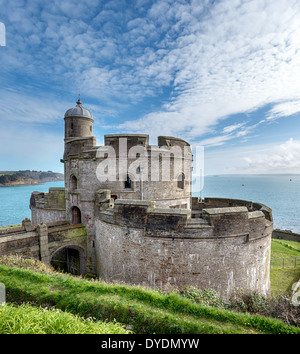 The castle at St Mawes - Stock Photo