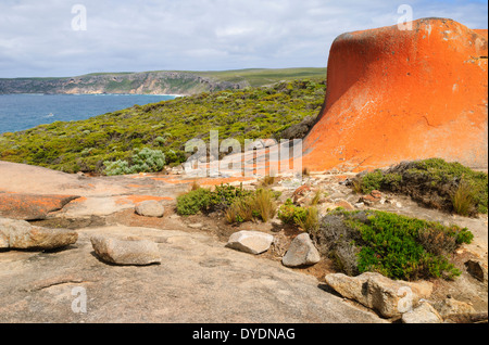 Remarkable Rocks, Kangaroo Island, South Australia, SA, Australia - Stock Photo