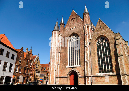 Sint Jakobskerk Church, Bruges, Belgium - Stock Photo