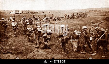 The Battle of Arras was a British offensive during the First World War. From 9 April to 16 May 1917, British, Canadian, - Stock Photo