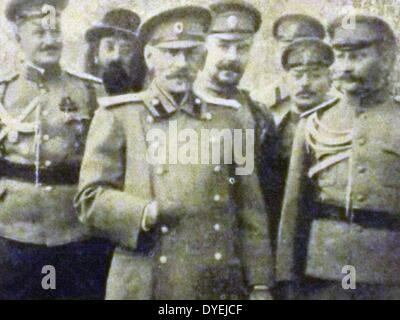 World War I . 1914, General Nikolai Vladimirovich Russki 1854- 18 October 1918. general of the Russian army. Russki - Stock Photo