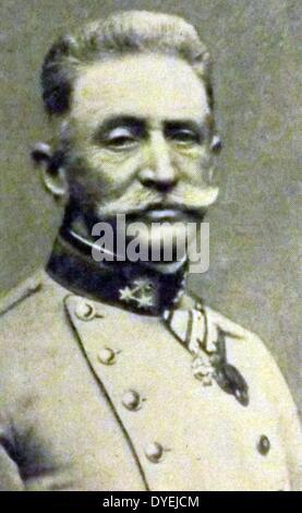 World War I . 1914, Count Franz Xaver Joseph Conrad von Hötzendorf (11 November 1852 – 25 August 1925) was an Austrian - Stock Photo