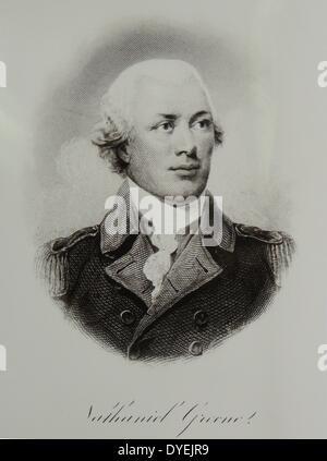 Nathanael Greene (1742–1786) - Stock Photo