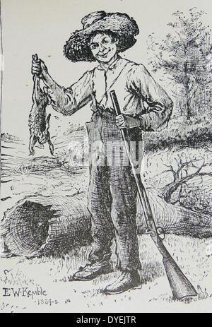 huck vs jim novel mark twain adventures hockleberry finn Las aventuras de huckleberry finn (adventures of huckleberry finn), obra de mark twain,  el cual recorren huck y un esclavo prófugo llamado jim,.