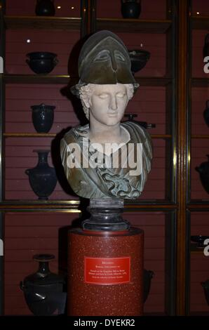 Marble Bust of Minerva 2nd Century A.D. - Stock Photo