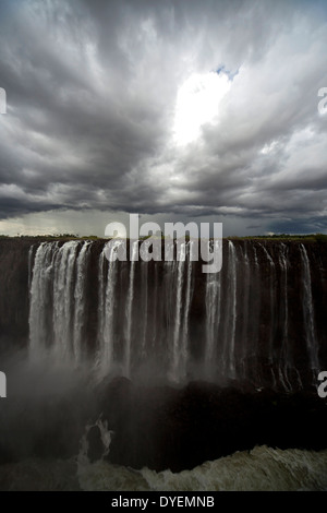 Victoria Falls, Zimbabwe, Africa - Stock Photo