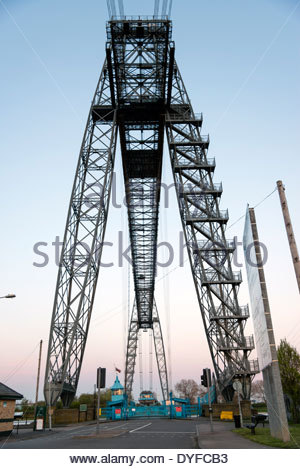 Transporter Bridge, Newport, South Wales, UK. - Stock Photo