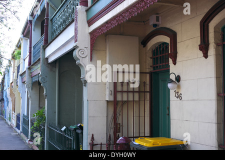 Marvelous Terraced Homes In Redfern An Inner City Suburb Of Sydney Stock Largest Home Design Picture Inspirations Pitcheantrous