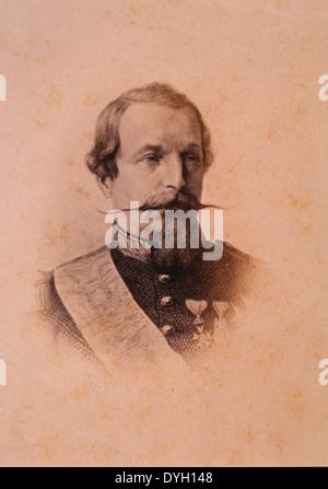 Napoleon III (1803-1873), Emperor of France 1852-1870, Portrait - Stock Photo