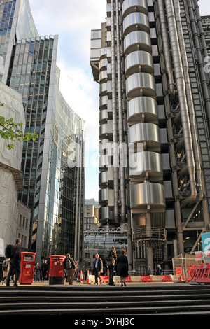 The Lime Street area of the City, London EC3, England, UK. - Stock Photo