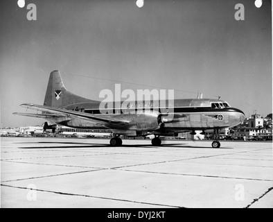 Convair 240 OO-AWT Sabena N20848 - Stock Photo
