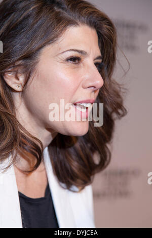 New York, NY, USA - April 18, 2014: Actress Marisa Tomei attends the 2014 Tribeca Film Festival Word Premiere Narrative: - Stock Photo