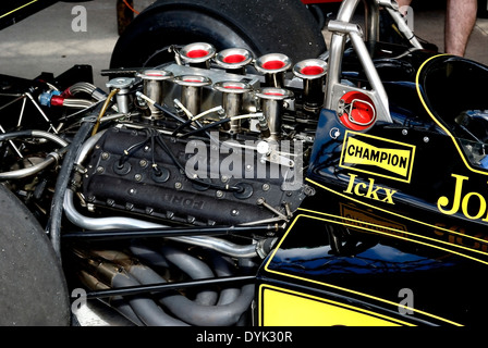 Classic Formula Ford Competition Race Car Stock Photo