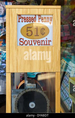 souvenir machine